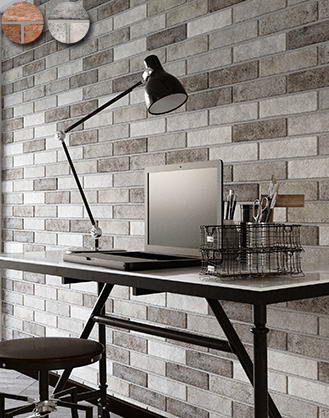 chicago brick effect wall tiles