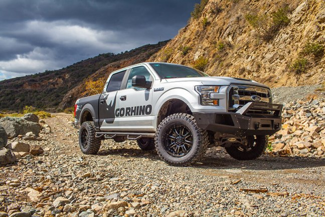 Go Rhino (24295T): BR5 Front Bumper Replacement for '15–'16 Ford F-150