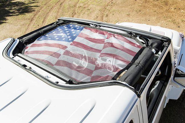 Rugged Ridge: Eclipse Hardtop Sun Shade for 2007+ Jeep Wrangler JK/JKU