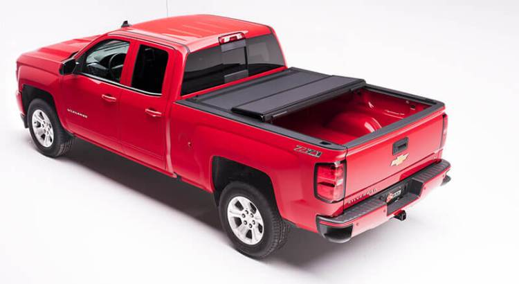 "BAK Industries (48120): BAKFlip MX4 Hard Folding Tonneau Cover for '14-'17 Silverado 1500 (5'8"" Bed)"