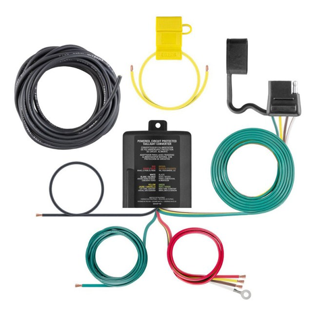 CURT 3 to 2 Wire Taillight Converter 59496