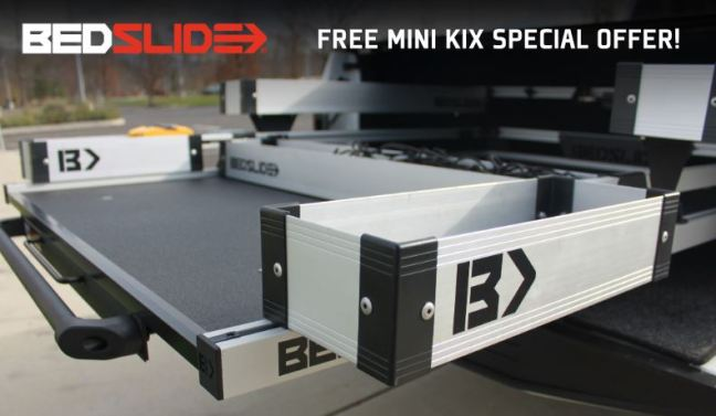 Bedslide: Get a FREE Mini Kix (BSA-MK) with Bedslide Purchase