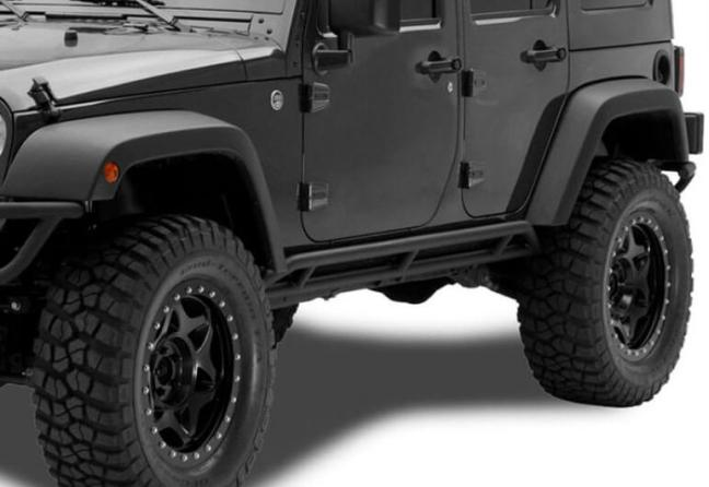 N-FAB: Rocker Guards for 2018 Jeep Wrangler JK