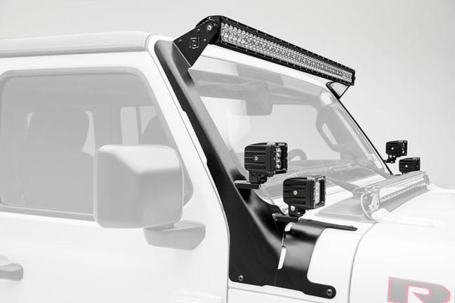 ZROADZ: Front Roof LED Mounts for Jeep Wrangler JL