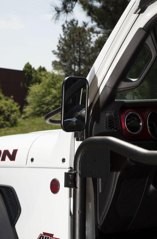 Rugged Ridge Trail Mirror Kit for 2018 Jeep Wrangler JL 11025.25