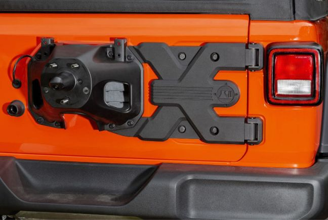 Rugged Ridge Spartacus HD Tire Carrier Hinge Casting for Jeep Wrangler JL 11546.56