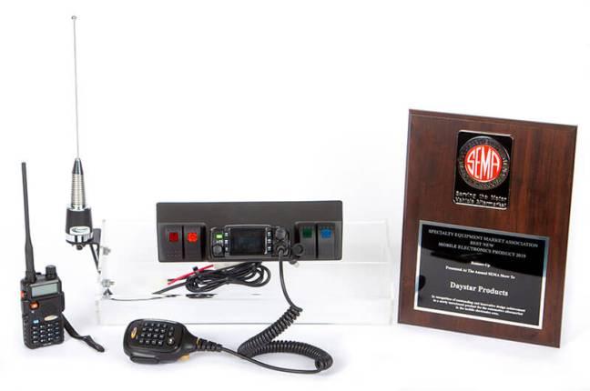 Daystar GMRS Radio Kit for Jeep Wrangler JK KJ71061BK