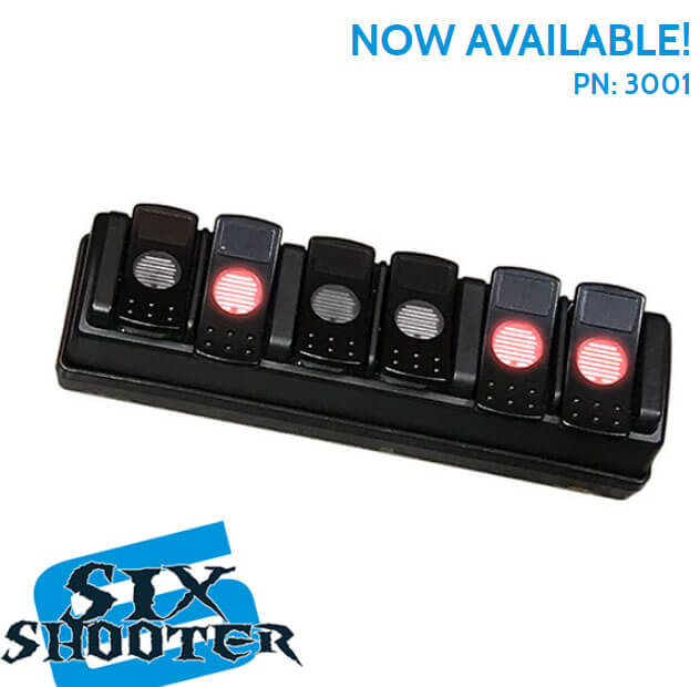 Advanced Accessory Concepts (3001): Trigger Six Shooter Six-Channel Wireless Accessory Controller
