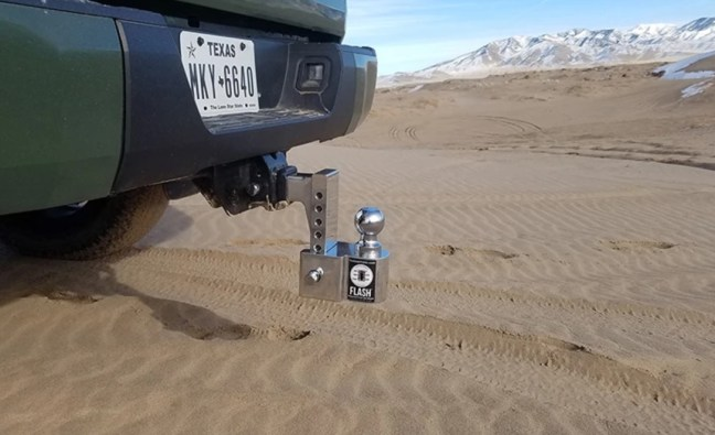 Fastway FLASH Integrated Scale Ball Mount