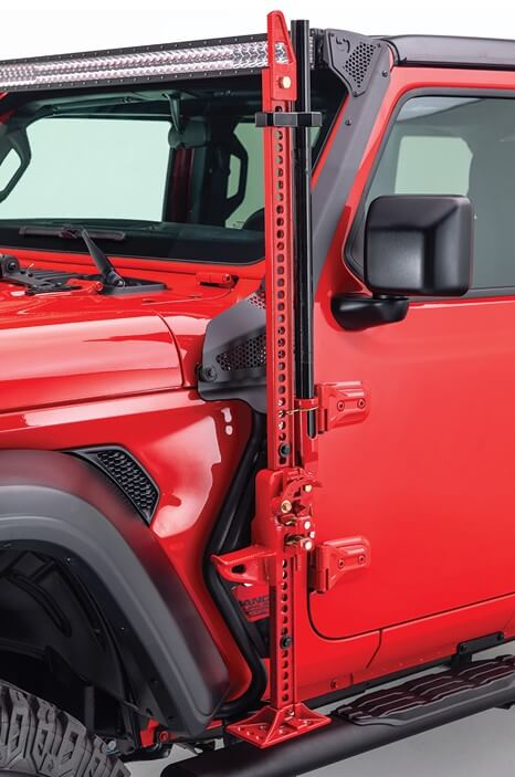 Go Rhino Jack Mount for Jeep Wrangler JL and Gladiator JT 701001T