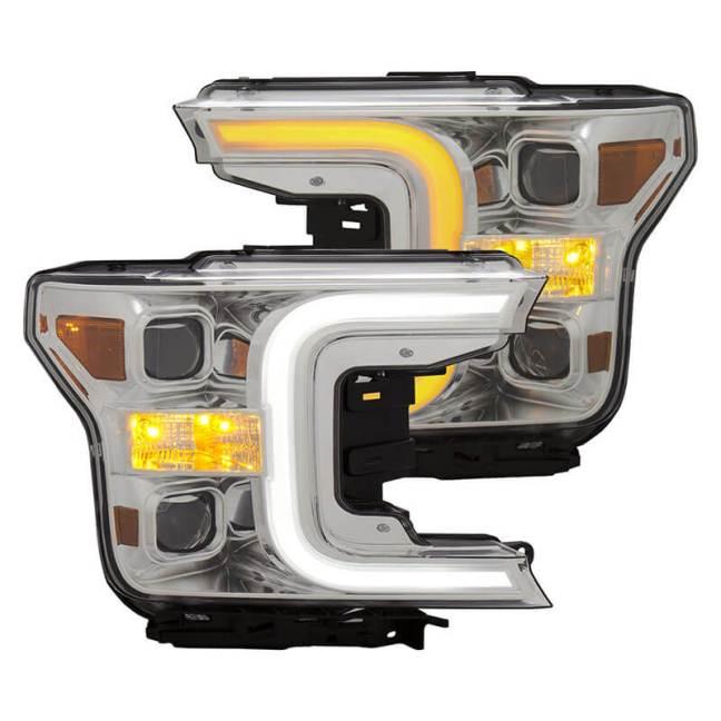 AnzoUSA Elite Series LED Headlights 111401