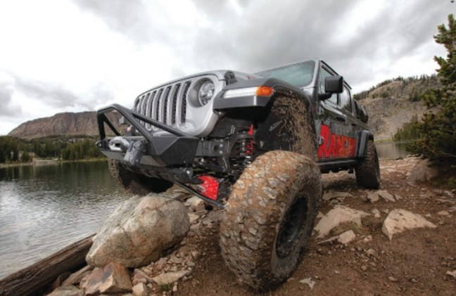 Rancho X-Lander RS3 Suspension System for Jeep Gladiator RS66128B