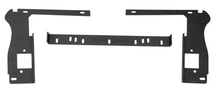 Rugged Ridge (11232.77): Grille LED Mount Bracket for `18-`20 Jeep JL/JT