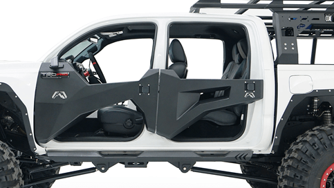 Fab Fours (TT1030-1): Trail Doors for `16-`20 Toyota Tacoma