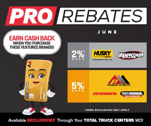 PRO Rebates: June Featured Brands