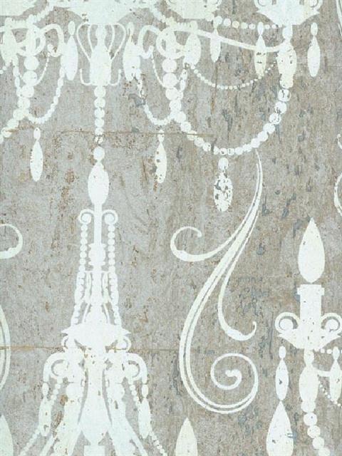 Chandelier Damask Textured