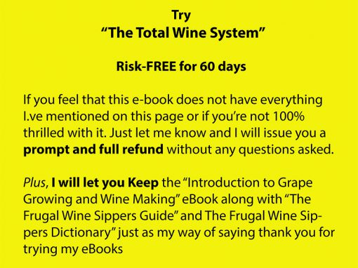 Grape Growing And Wine Making   The Total Wine Making System  Image of TWS salespage quote 11 yellow 510x382