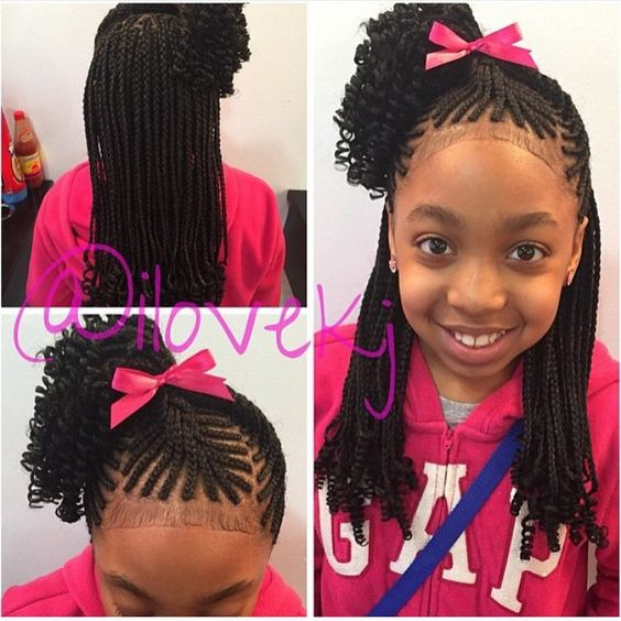 20 Hairstyles For Your Daughters Most Fun Back To School Look