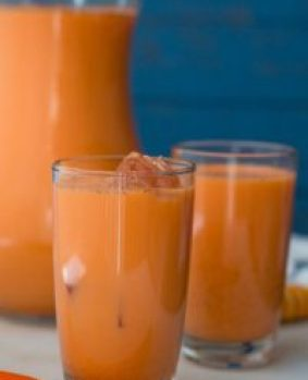 carrot juice for natural hair dye