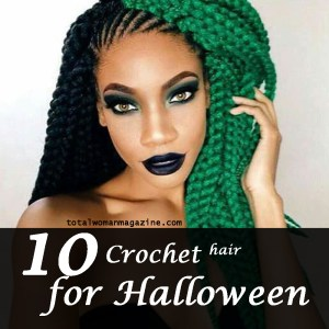 10 crochet hair for halloween