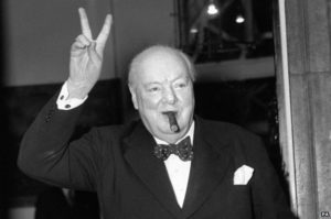 wilson churchill famous success quote