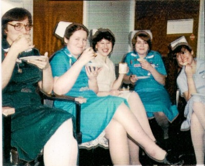 Image shows real midwives to illustrate