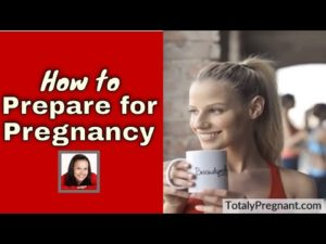"""Image is the featured image which provides a thumbnail for the""""How to prepare for Pregnancy"""" video."""