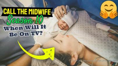 "Image for ""Call the Midwife"" Series 10, text asks When will it be on TV?""."