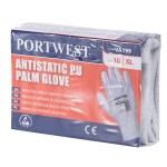 Manusa antistatica vending aplicatii PU in palma PortWest VA199
