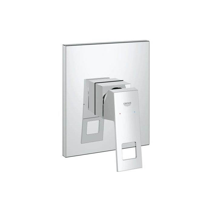Eurocube Single lever shower mixer trim