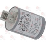 Filtru deparazitar tip 411.13.5901D 250V 50Hz conductor 4 ștecăr