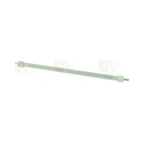 Rezistenta quartz 400watt 115V L 260mm ø 12mm racord fișă plată masculină 6,3mm DPF 24,8mm