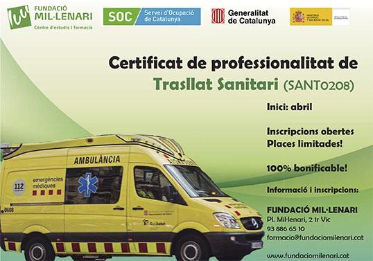transport sanitari vic
