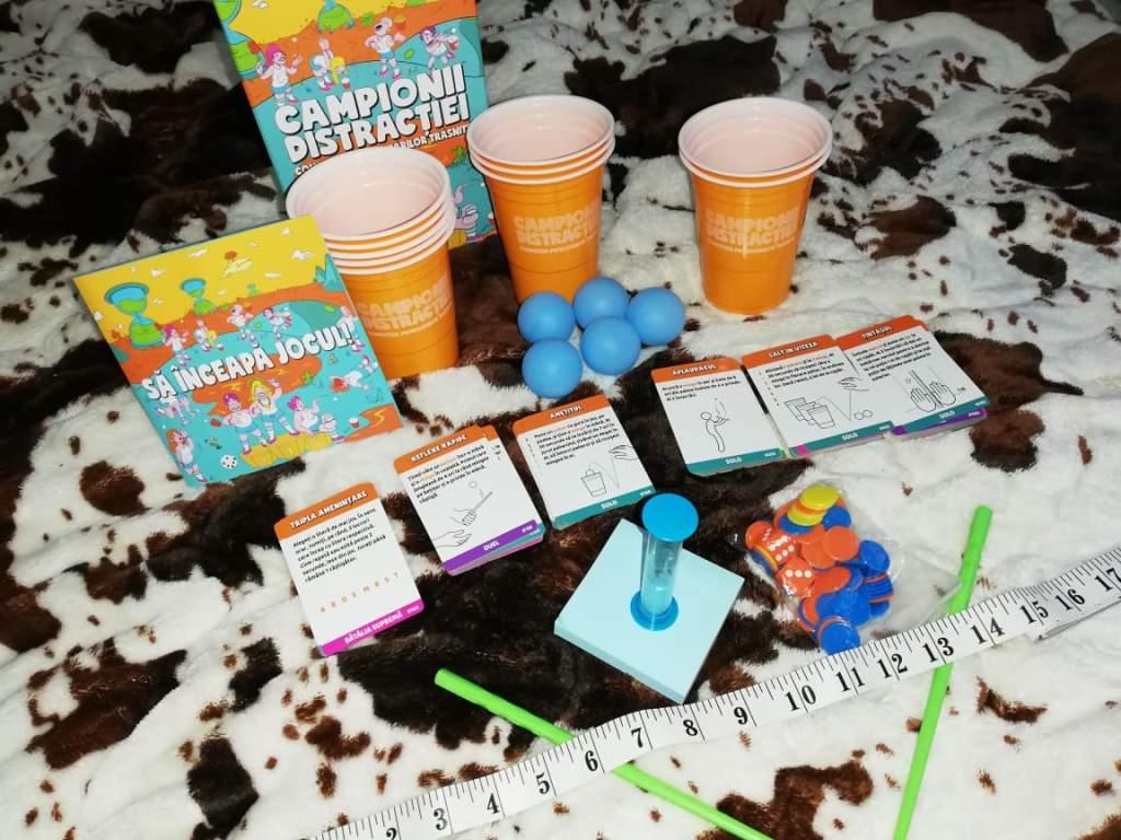 joc cu provocari. campionii distractiei.gameology