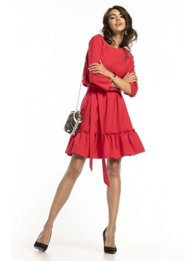 rochie de zi scurta,rochii casual,rochie rosie,