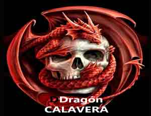 dragón calavera símbolo masonería