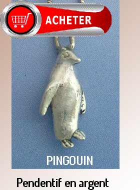 pingouin pendentif argent bijoux signification symbole