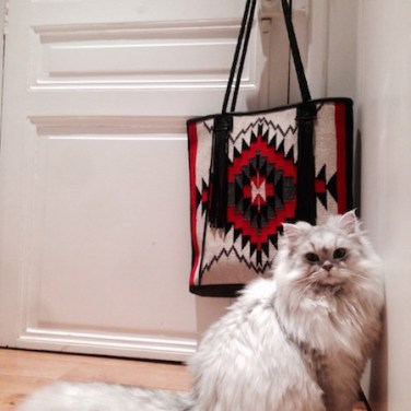 Cat & Bag Paris Apartment