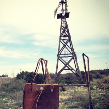 Totem Chap Bag & Windmill Texas