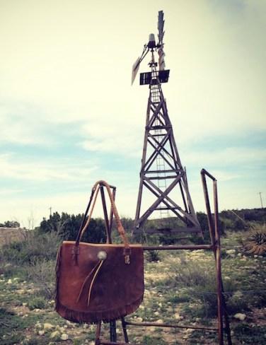 Totem Chap Bag & Windmill Texas