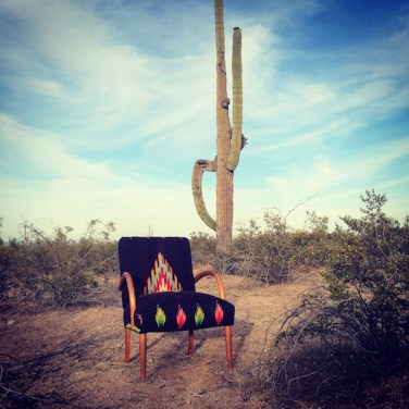 Chimayo Chair & Cactus