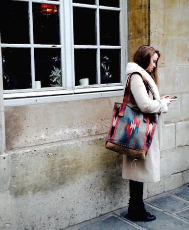 Ophelia & Vintage Chimayo in Paris