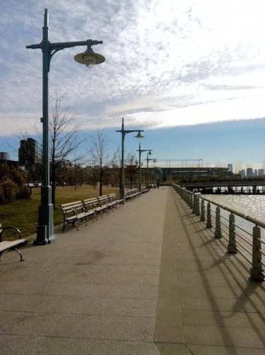 Hudson Park Day Before