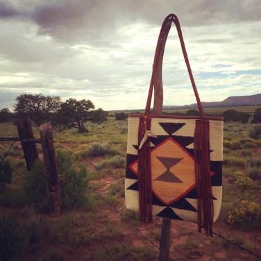 Navajo On Fence New Mexico