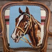 Blu Horse : Crm Chimayo bk rest