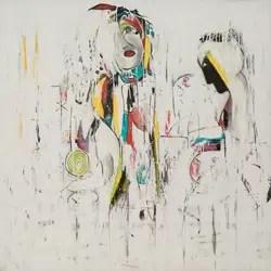 work art by Hassan Kouhen