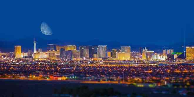 see las vegas from the air