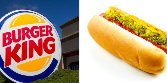 burger king hot dog