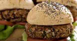 Lentils burger recipe
