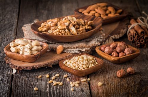 properties of nuts